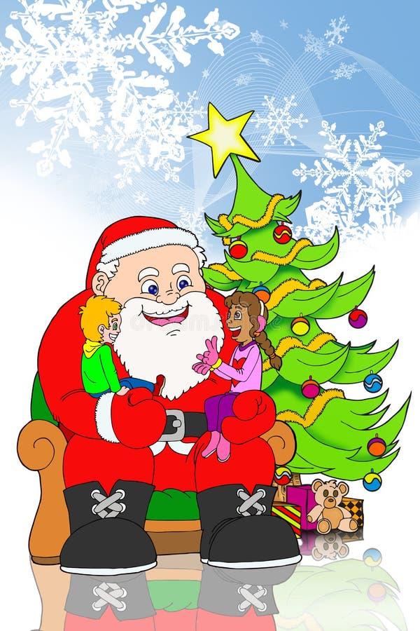Download Feliz Navidad stock de ilustración. Ilustración de checklist - 7285831