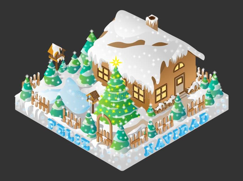 Feliz Navidad stock afbeeldingen