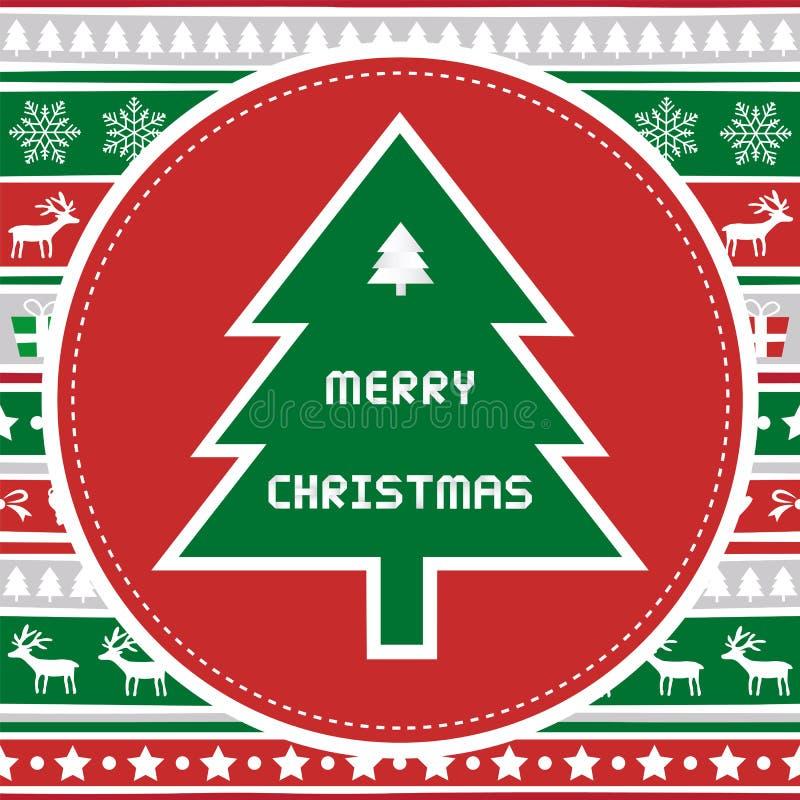 Feliz Navidad card44 de saludo libre illustration