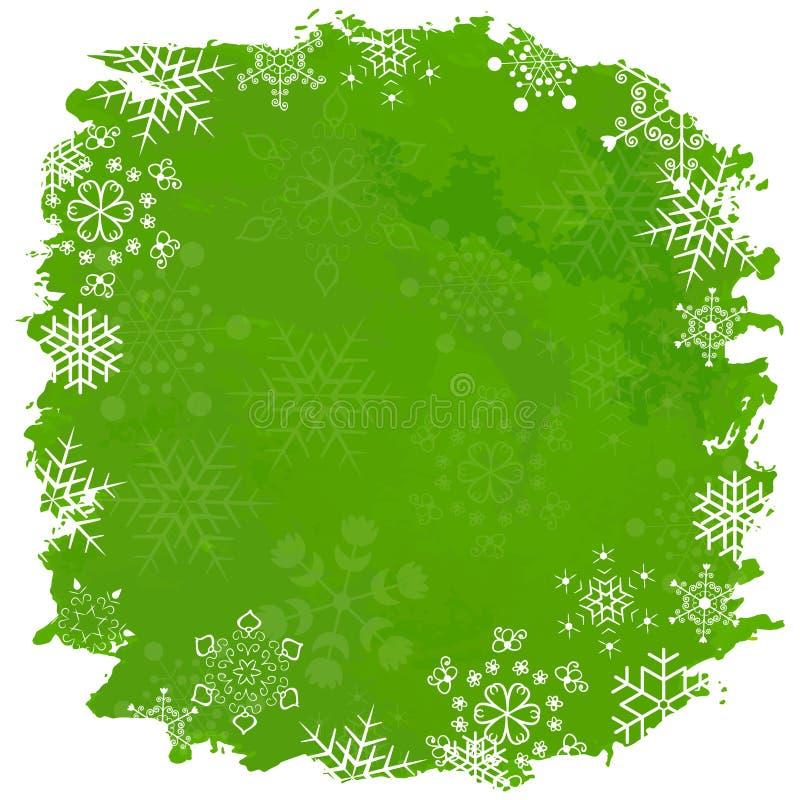 Feliz Navidad del vintage y Feliz Año Nuevo ilustración del vector