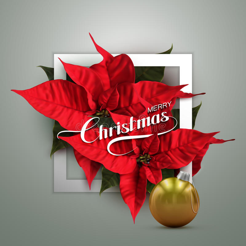 Feliz Navidad Ejemplo del día de fiesta del vector stock de ilustración