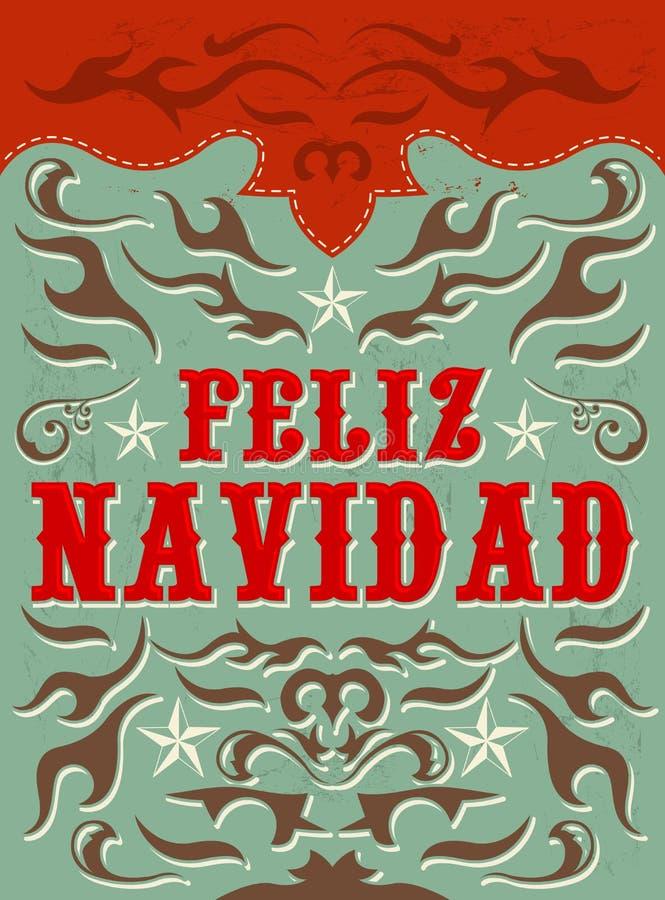 feliz navidad texte d 39 espagnol de joyeux no l photo. Black Bedroom Furniture Sets. Home Design Ideas
