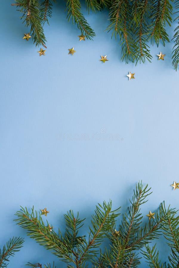 Feliz Navidad y Feliz Año Nuevo Fondo para una tarjeta de la invitación o una enhorabuena imagen de archivo