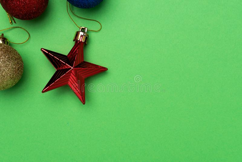 Feliz Navidad y celebración de la Feliz Año Nuevo imagen de archivo libre de regalías