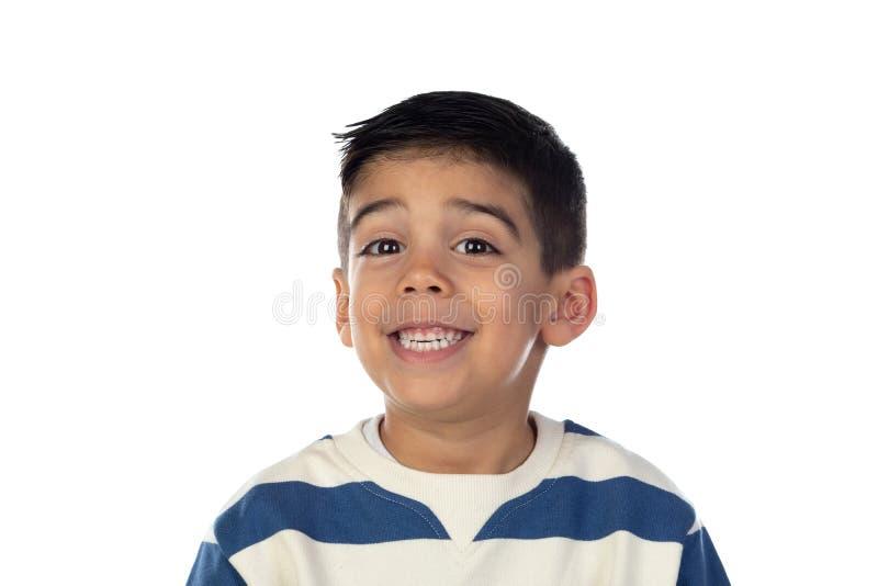 Feliz niño gipsy foto de archivo
