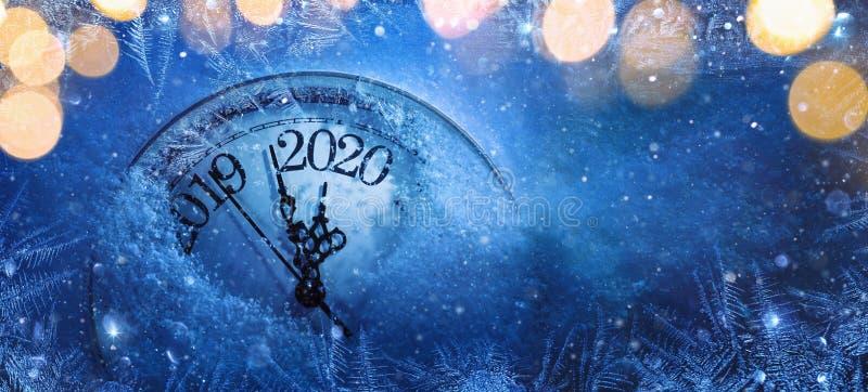 Feliz A?o Nuevo 2020. Celebraci?n del invierno libre illustration