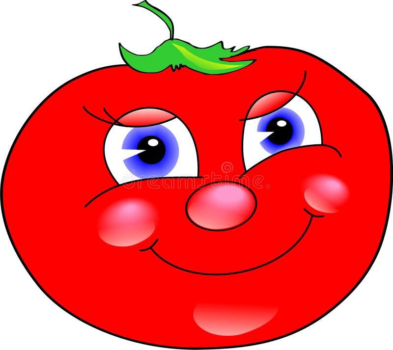 Feliz tomate libre illustration