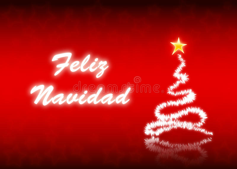feliznavidad royaltyfri illustrationer