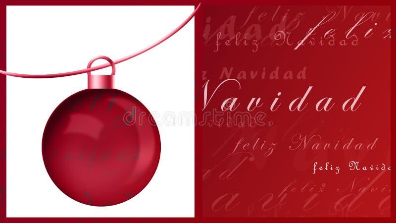 feliznavidad royaltyfri illustrationer