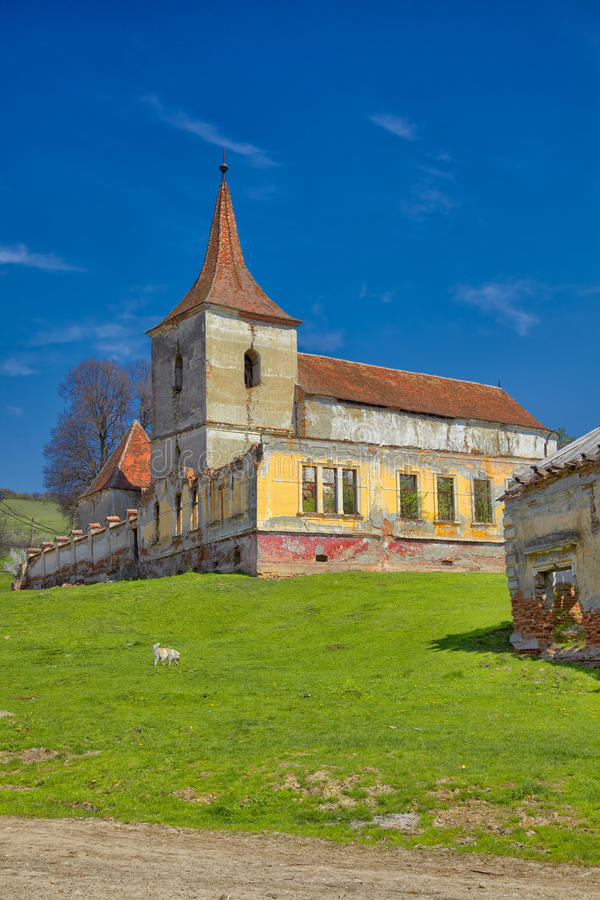 Download Felmer church stock image. Image of color, roofs, countryside - 31761581