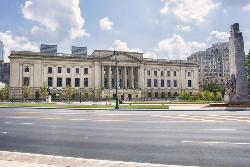 The Fels Planetarium, Franklin Institute. In Philadelphia, PA is one of the oldest centers of science education in the United States royalty free stock photo