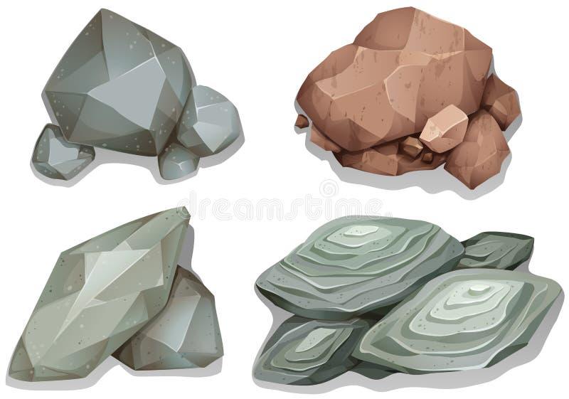 Felsen stock abbildung