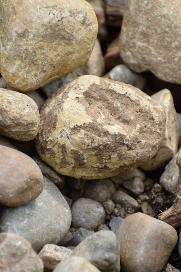 Felsen aus den Grund stockbild