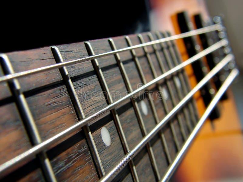 Felsen-Baß-Gitarre lizenzfreie stockfotos
