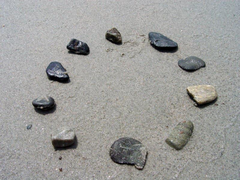 Felsen in einem Kreis