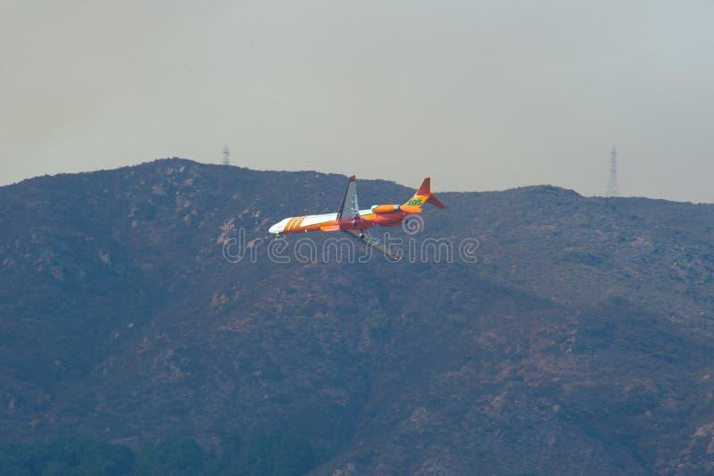 Felsen-Feuer San Diego California stockfotografie