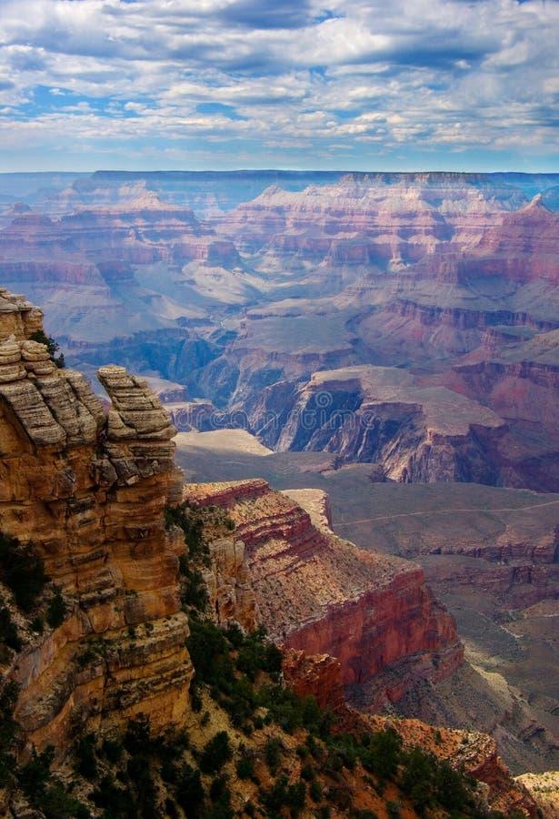 Felsen im Grand Canyon stockfotografie