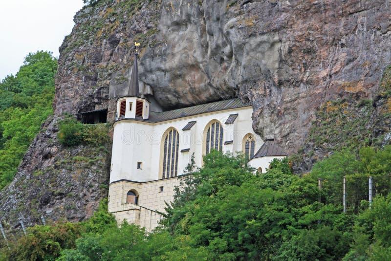 Felsen-Kirche, Idar-Oberstein, Deutschland stockfotografie