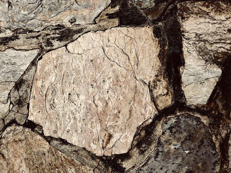 Felsen scissor oder tapezieren! Dieses ist Felsen lizenzfreie stockfotos