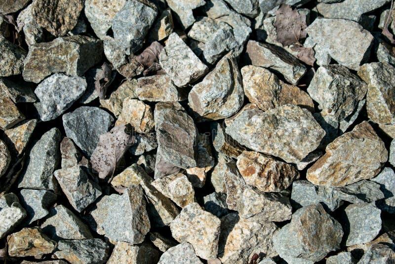 Felsen und getrocknete Bl?tter Gute Beschaffenheit stockfotos