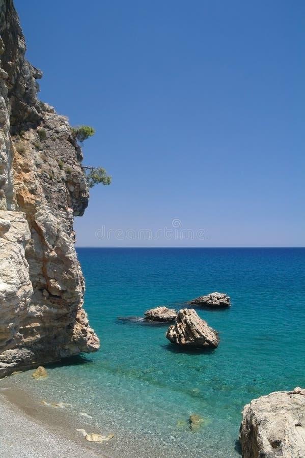 Download Felsen und Meer. stockbild. Bild von reiseflug, exotisch - 26355095