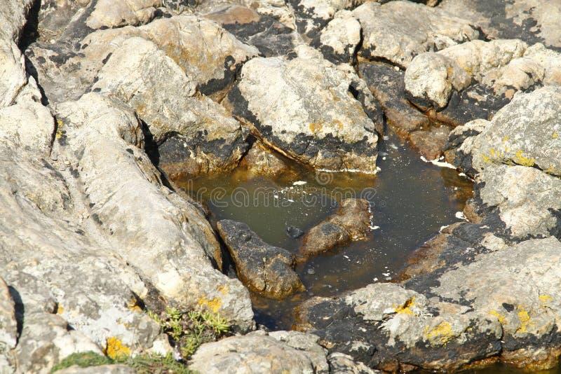 Felsen und Wasser marron lizenzfreie stockbilder