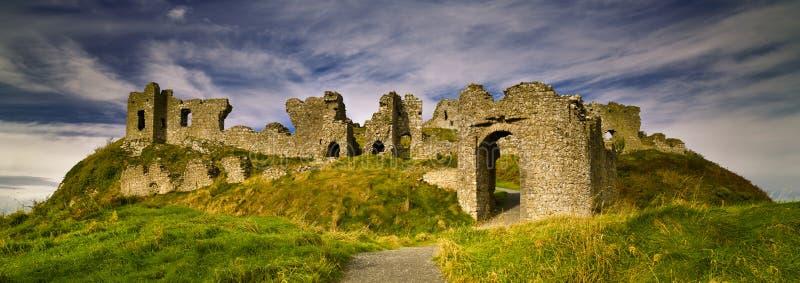 Felsen von Dunamase-Grafschaft Laois, Irland lizenzfreie stockbilder