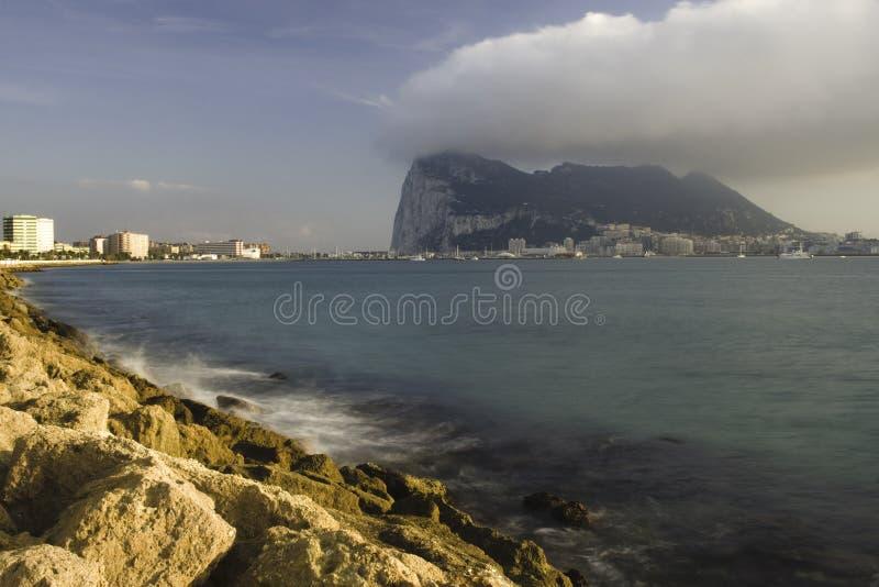 Felsen von Gibraltar lizenzfreies stockbild