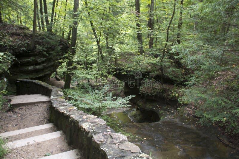 Felsen-Wand borderon Spur lizenzfreie stockfotos