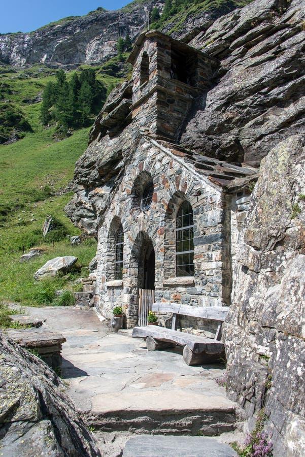 Felsenkapelle stock image