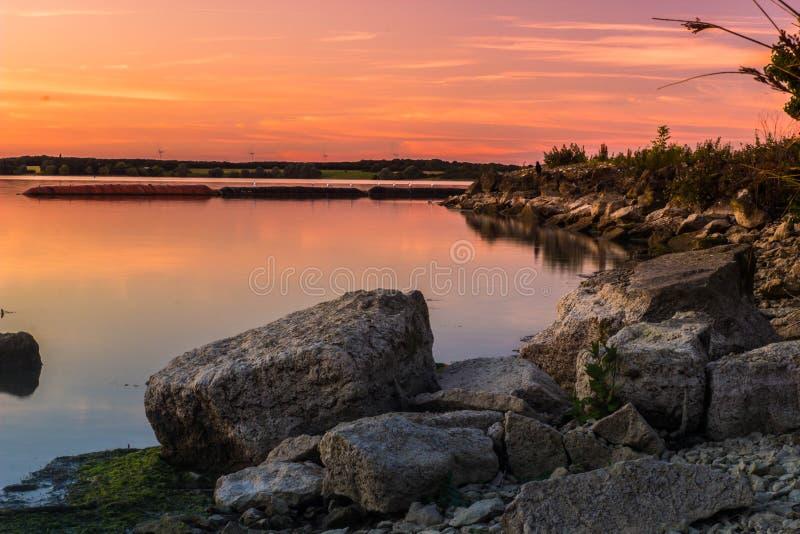 Felsenlandschaft stockfoto