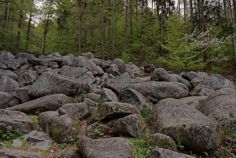 Felsenmeer стоковое изображение rf
