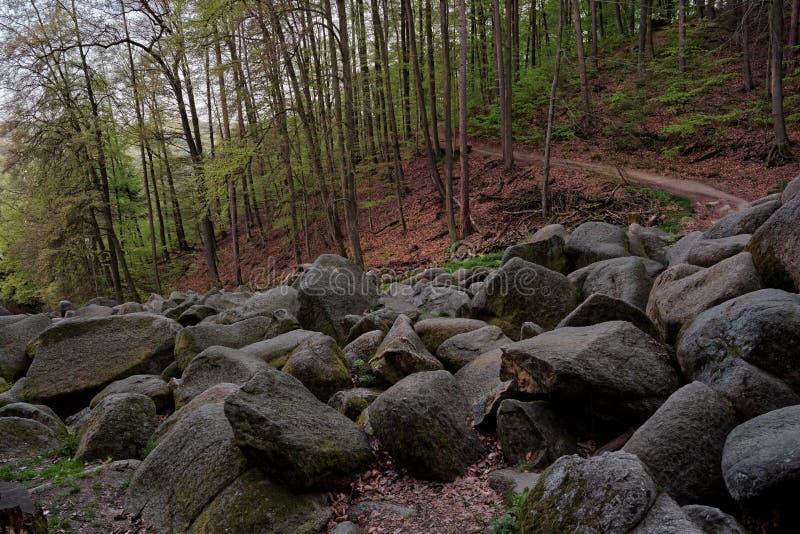 Felsenmeer стоковое фото rf