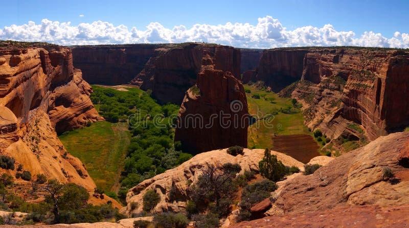 Felsenstapel an Nationaldenkmal Canyon de Chelly lizenzfreies stockbild