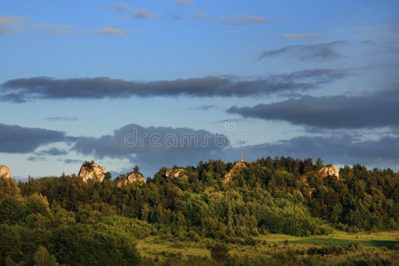 Felsige Hügel stockfoto