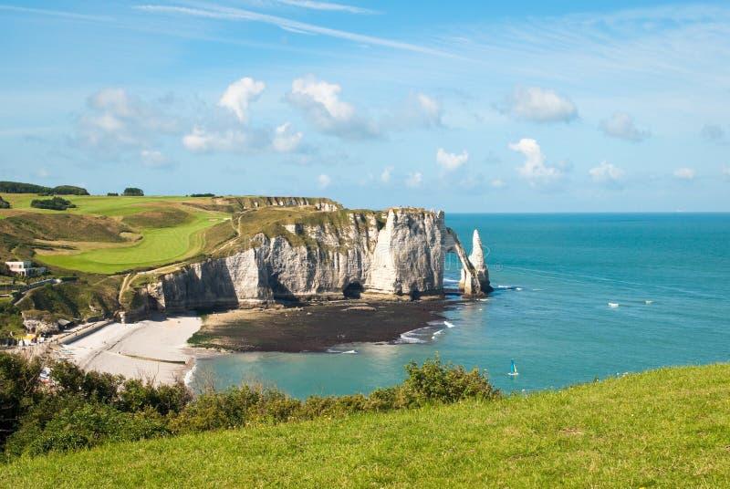 Download Felsiger Strand In Normandie, Frankreich Stockfoto - Bild: 11881510