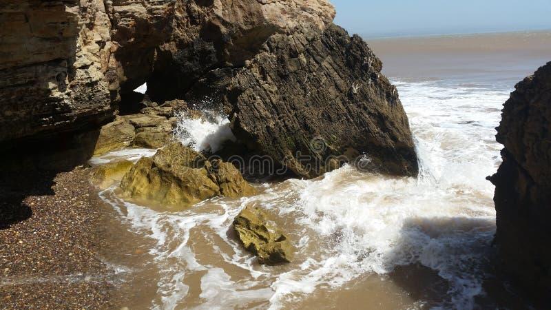 Felsiges Wasser HD lizenzfreie stockbilder