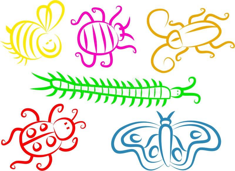 felsymboler stock illustrationer