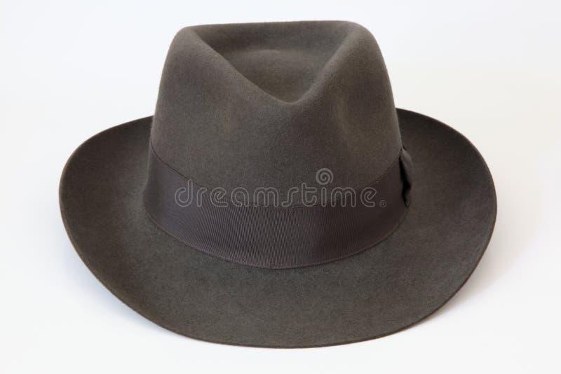 Felt bowler hat Borsalino royalty free stock photos