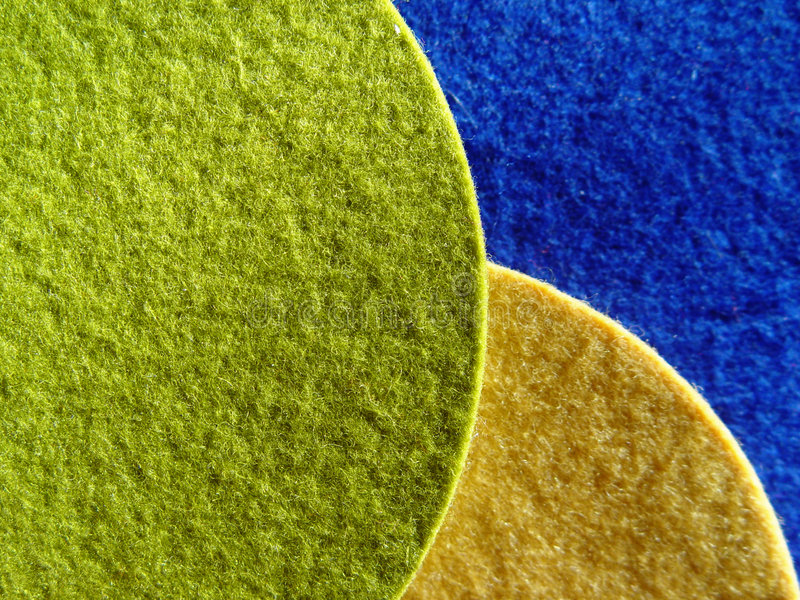 Download Felt table mats stock photo. Image of colour, felt, backgrounds - 44746