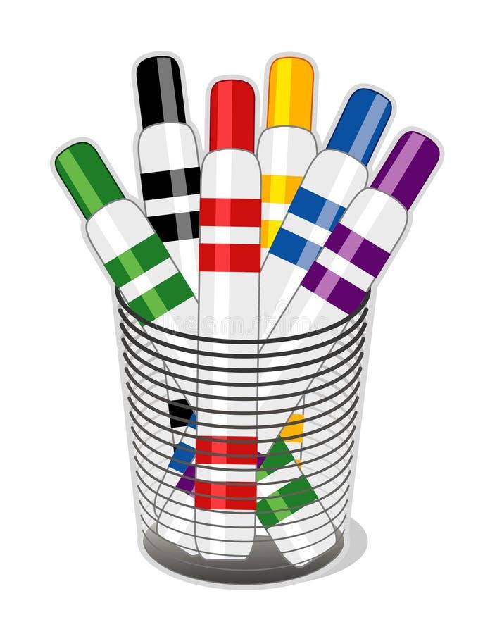 Free Felt Tip Markers Stock Image - 4678821