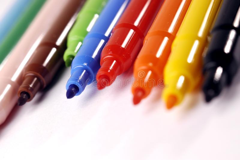 Felt-tip pen royalty free stock photography