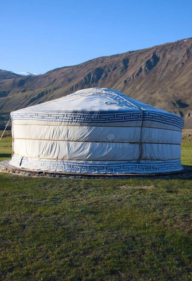 Download Felt Yurt stock photo. Image of asia, circle, altai, summer - 15096904