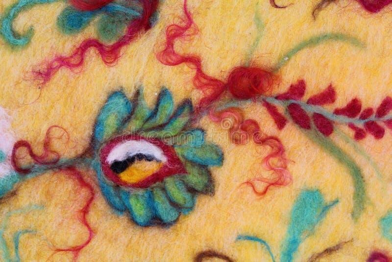 Feltratura della lana immagine stock libera da diritti