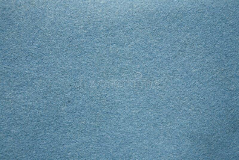 Feltro dell'azzurro fotografia stock libera da diritti