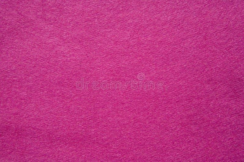 Feltro di colore rosa immagine stock libera da diritti
