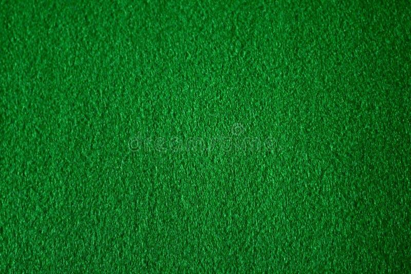 Feltro do verde do fundo fotografia de stock royalty free