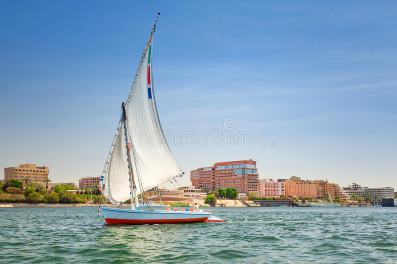 Download Felucca On The Nile River In Luxor Editorial Stock Photo - Image: 30761603
