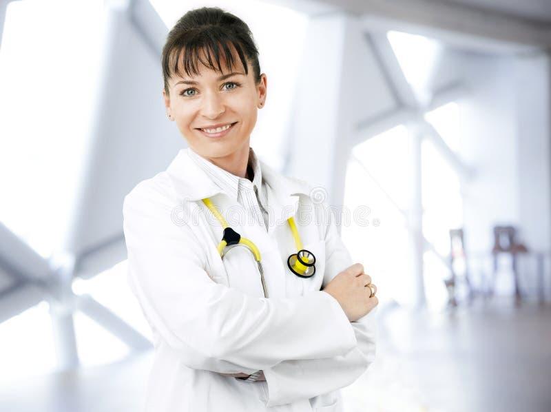 Femal Doktorporträt stockbilder