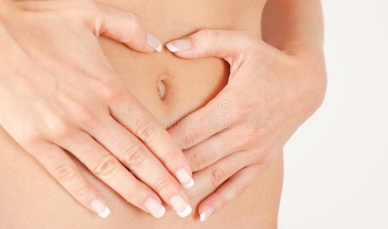 Download Female abdomen stock image. Image of human, model, female - 9603961